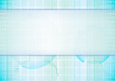 Abstract vector high-tech background Royalty Free Stock Photography