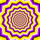 Abstract vector hypnotic optical illusion Royalty Free Stock Photos