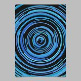 Abstract hypnotic poster background from concentric circles. Abstract vector hypnotic poster background from concentric circles stock illustration