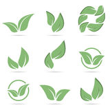 Abstract vector icon - natural product Stock Photo