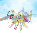 Abstract Vector Illustration Stock Images