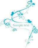Abstract vector illustration. For design Royalty Free Stock Image