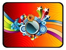 Abstract vector illustration Royalty Free Stock Photography
