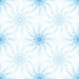 Abstract Vector illustration background blue circular patterns Royalty Free Stock Photo