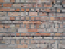 Abstract Vector illustration background brick wall. Vector illustration abstract background brick wall Stock Images