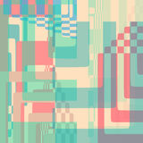 Abstract Vector illustration background geometric shapes Royalty Free Stock Images