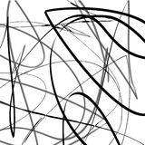Abstract Vector illustration background of lines curves Stock Photo