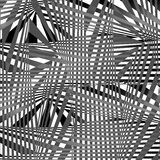 Abstract Vector illustration background psycho background abstraction Royalty Free Stock Photo