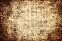The texture of the old paper darkened by time. stock photo