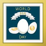 The chicken egg Royalty Free Stock Image