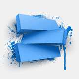 Abstract vector Illustration with place for text Royalty Free Stock Photos