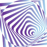 Abstract Vector illustration psycho  background Stock Image