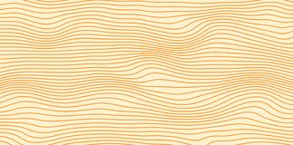 Abstract vector isolines in brown colors royalty free stock image