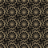 Abstract vector lace seamless pattern Stock Photo