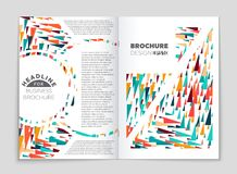 Abstract vector layout background set. For art template design, list, front page, mockup brochure theme style, banner, idea, cover. Booklet, print, flyer, book vector illustration