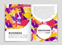 Abstract vector layout background set. For art template design, list, front page, mockup brochure theme style, banner, idea, cover stock illustration