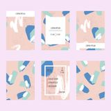 Abstract vector layout background set. For art template design, list, front page, mockup brochure theme style, banner vector illustration