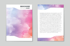 Abstract vector layout background for web and mobile app, art template design, list, page, mockup brochure theme style Stock Photography