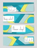 Abstract vector layout background for web and mobile app, art template design. Abstract vector layout background set. For art template design, list, page, mockup Royalty Free Stock Images