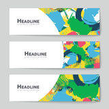 Abstract vector layout background for web and mobile app Royalty Free Stock Images