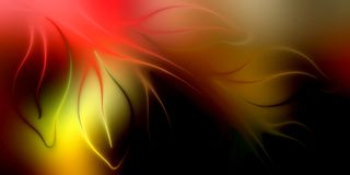 Abstract vector leaf colorful shaded background with lighting effect, vector illustration royalty free stock image
