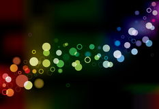 Abstract Vector Lights Royalty Free Stock Images