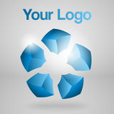 Abstract vector logo. Stock Image