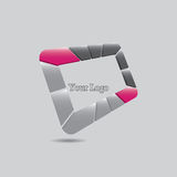 Abstract vector logo design template. Stock Photo