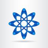 Abstract vector logo Royalty Free Stock Photos