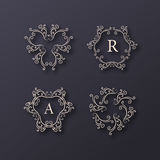Abstract Vector Logo Design Template Royalty Free Stock Photography
