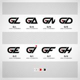 Abstract Vector Logo Design Template Royalty Free Stock Photos