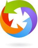 Abstract vector logo / icon  Stock Image