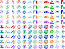 Abstract Vector Logo Icon Design Elements Royalty Free Stock Photo