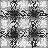 Abstract vector maze of high complexity Stock Photo