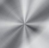 Abstract vector metallic texture background. Abstract silver metallic texture background. Vector button style design Royalty Free Stock Photos