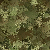 Abstract Vector Military Camouflage Background vector illustration
