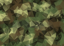 Abstract Vector Military Camouflage Background. Made of Geometric Triangles Shapes Stock Images