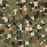 Abstract Vector Military Camouflage Background. Made of Splash Royalty Free Stock Photos