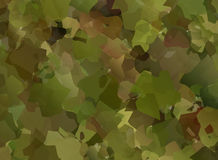 Abstract Vector Military Camouflage Background. Made of Splash Royalty Free Stock Photo