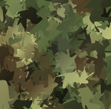 Abstract Vector Military Camouflage Background. Made of Splash Royalty Free Stock Images