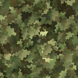 Abstract Vector Military Camouflage Background Royalty Free Stock Images