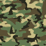 Abstract Vector Military Camouflage Background Royalty Free Stock Image