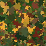 Abstract Vector Military Camouflage Background. Abstract Vector Seamless Military Camouflage Background Made of Splash Royalty Free Stock Photo
