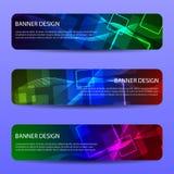 Abstract vector modern banner .design templates.Vector illustration. royalty free illustration