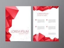 Abstract vector modern flyer brochure design vector illustration