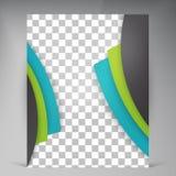 Abstract vector modern flyers brochure. Stock Photo