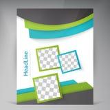 Abstract vector modern flyers brochure. Royalty Free Stock Photos