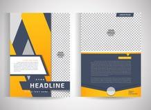 Abstract vector modern flyers brochure stock illustration