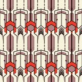 Abstract vector modern tiles pattern10 Royalty Free Stock Photo