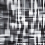Abstract Vector Monochrome Checkered Background Royalty Free Stock Photos